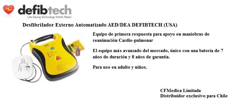 Defibtech AED/DEA