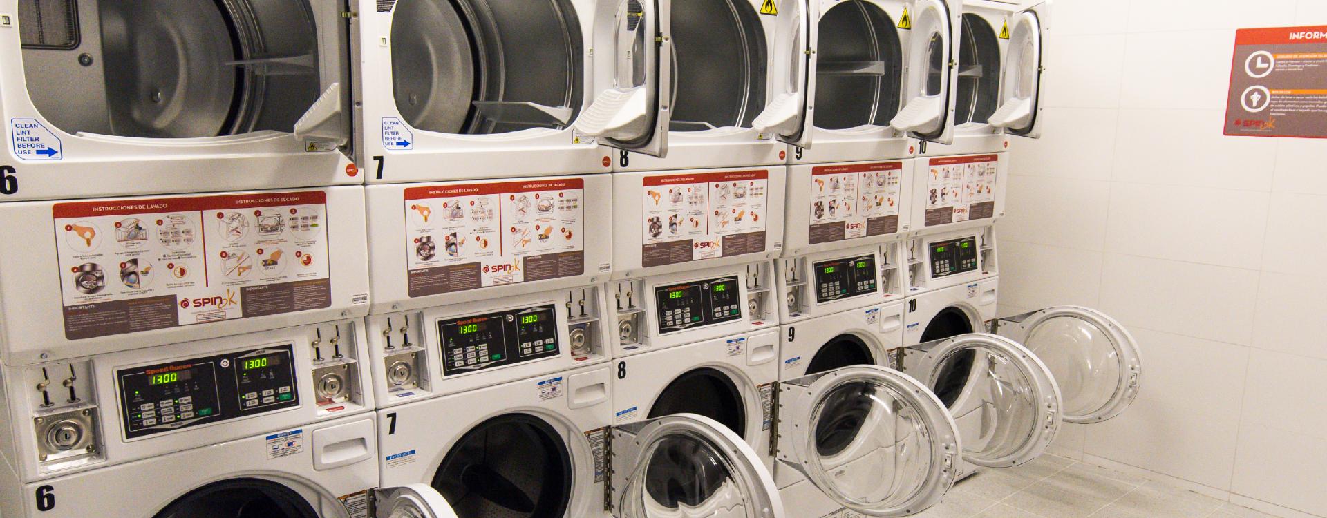 Lavanderías para edificios y comunidades
