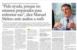 Presidente de la Cámara Chilena de Centros Comerciales: