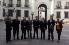 Comité de Seguridad de la CCC se reunió con subsecretario del Interior y coordinan trabajo conjunto
