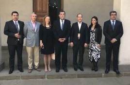 Cámara Chilena de Centros Comerciales se reúne con Subsecretario del Interior y policías para coordinar Plan de Seguridad para fiestas de fin de año