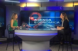 Entrevista en CNN a Katia Trusich, Presidenta Cámara Chilena Centros Comerciales