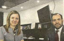 Subsecretario Guerrero se reúne con Katia Trusich por pago oportuno