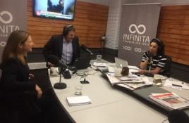 """Katia Trusich en Radio Infinita: """"Que los centros comerciales son la nueva plaza pública es una realidad para los países latinoamericanos"""""""