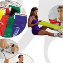 Bandas y tubos de ejercicios de latex