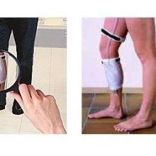 Bolsa de pierna para peatones