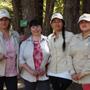 Silvia Oliveros, Elena Gomez, Rosita Varela, Antonella Sobarzo