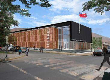 Construcción del Edificio Público de  Gobernación, de la Comuna de Illapel, Región de Coquimbo.