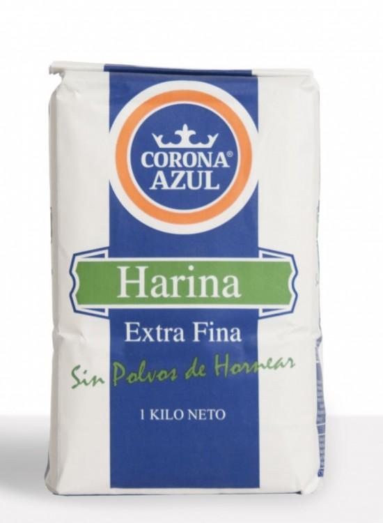 Harina Todo Uso Extra Fina Corona Azul