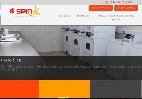 Spin OK publica su nueva página web
